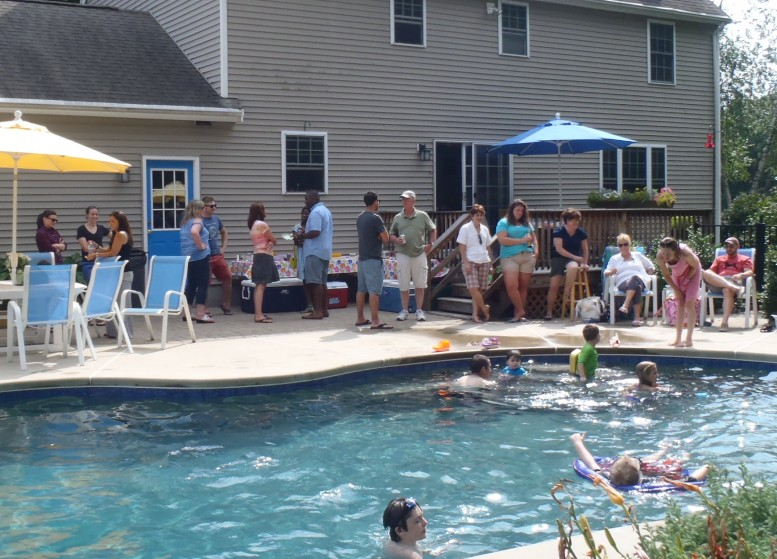 Company Cookout August 2014