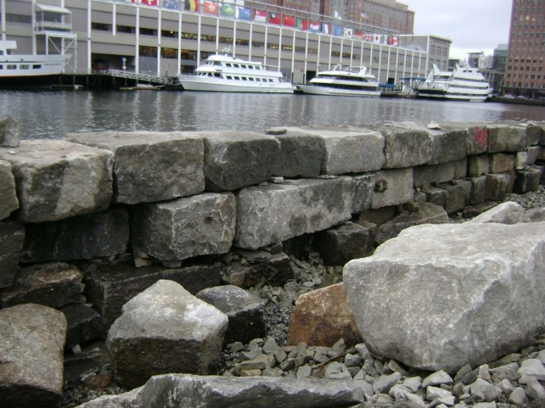 Rehabilitating Boston Seawalls Sept 2016